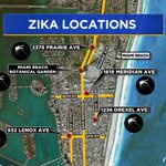 This is where mosquitoes tested positive for the #Zika virus: https://t.co/BMwyYSV8EY #Health #Florida #MiamiBeach https://t.co/676sansIzo