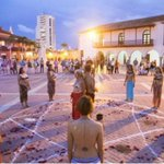 """¿Fue """"rito satánico"""" el realizado frente a la Alcaldía de Cartagena la noche anterior a la firma Santos-Timochenko? https://t.co/27RYUq1TsV"""