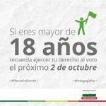 Tu voto marcará el destino de Colombia. Antioquia #PiensaEnGrande Feliz día! #PiensaEnPaz https://t.co/YVXm8j8Xxc