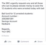 12 students at Rhodes have been arrested for protesting. Please donate if you can https://t.co/60YntN1QtM