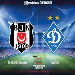 Beşiktaş Dergisi, Futbol Takımımıza Dinamo Kiev maçında sonsuz başarılar diler! #Beşiktaş https://t.co/ZQfVvAN4Pk
