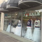 The sights of #winnipeg #NHLJets hockey season lingers in the air #finditdowntown thanks @HelensBridal1 https://t.co/BHM016MfRk