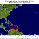 A tropical disturbance east of the Windward Islands continues to move west and is likely to develop into a tropical depression or storm soon https://t.co/OfbV73luAA