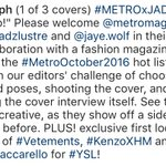 Sobrang lala nung chose the clothes and poses, shot the cover, conducted the interview. OTP! 💯 #TIMYLettingGo https://t.co/Y6xgf1slvY