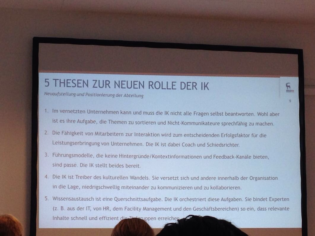 Ellen Trude (@e_trude): #ioms16 neue Rolle interne ...