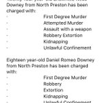 Ok here are the charges in Tylor McInnis homicide. Big list: https://t.co/WDs6c29UWB