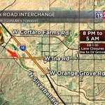 #CONSTRUCTION: Work is ramping up again on EB I-10 tonight, for the Ina Interchange work. Delays to 5 am. #Tucson https://t.co/VVP5F8j7Ks