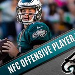 .@Eagles QB @cj_wentz has been named the NFC Offensive Player of the Week https://t.co/LLzJ0ooYMe