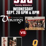 Vikings basketball take on @queensgaels tonight! 👩 🕕 👨 🕗 #GameDay https://t.co/Ov9atLDo2f