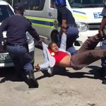 WATCH: Shots fired as students arrested at Rhodes https://t.co/02fZCPD71u https://t.co/EQpZziFKBM