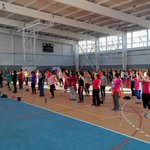 Completo exito en las clases de pilates y adulto mayor. Polideportivo #Rancagua https://t.co/z1nePGUgaV