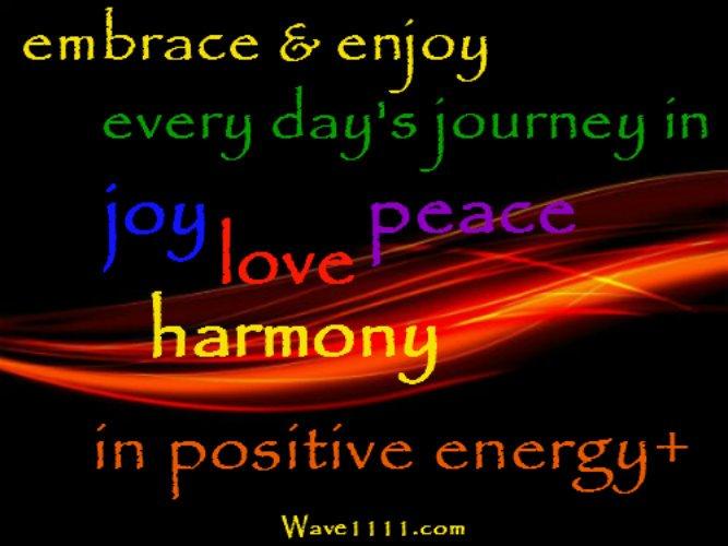 RT @Wave1111: #WednesdayWisdom #joy #love #peace #harmony #PositiveVibes https://t.co/pjxVi5d6Dp