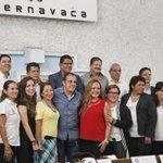 .@CuauhtemocBco tomó protesta a Alejandra Ocampo Ramón como Directora del Instituto de las Mujeres de Cuernavaca. https://t.co/VFayw5fdfq