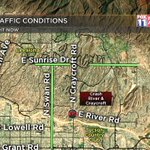 #CRASH: A new foothills crash to watch for, at River & Craycroft. Take Swan/Sunrise instead. #Tucson https://t.co/fIFO56zF1T