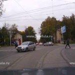 Наезд на пешехода в Туле снял видеорегистратор #Тула #ТелеТула #ТТ https://t.co/F52ysfLrl4 https://t.co/ITabPJTEnC