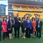 Our guests from Anqing are now visiting @OfficialWolves to hear all about our clubs great history #wolvesbizweek https://t.co/7Sr9g5KW6L