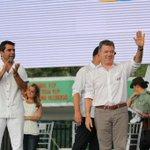 Presidente Santos terminó campaña del Plebiscito en Barranquilla y Ciénaga @AlejandroChar @Mariposacosta @hannerisd https://t.co/P7yAurdAcA