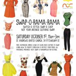 Check out Swap-O-Rama-Rama this Saturday! @NanArtsCouncil https://t.co/BG4iCUpjkf https://t.co/Joqxl5mV2B