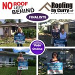 Our No Roof Behind Finalists have been chosen! Vote Online Now! https://t.co/ICbOq1PhJ3 @Roof4All https://t.co/RSLiq8C2hJ