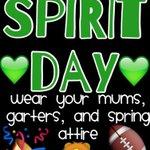 Mums, garters, and green tomorrow!!!! 💚💚💚💚🦁 #WeAreSpring #SHShoco2k16 https://t.co/0AdjBfLdFq