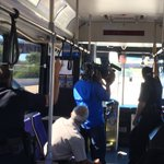 Happening Now: Were on the bus with @Austin_Police looking for distracted drivers. #ATX has a hands-free ordinance for drivers/bikers https://t.co/EkMgJxF9zN