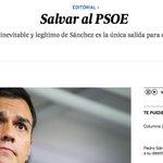 El País, emocionado, no puede esperar para seguir acosando a Sánchez y nos trae del futuro un editorial. https://t.co/OktCdBHZa0