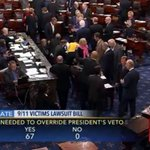 Senate just hit the threshold it needed to override Obamas veto of JASTA https://t.co/F8FzqnYB6U