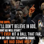 Dee Gordon was overcome with emotion after his lead-off HR. https://t.co/NQxbOlg8yE