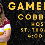 GAMEDAY! Good luck to the @CobberWSoccer team who hosts St. Thomas today at 4:00 at The Jake. #RollCobbs 🌽 https://t.co/ziuhF4ZmNy