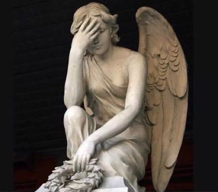 my guardian angel lookin' at my life decisions like