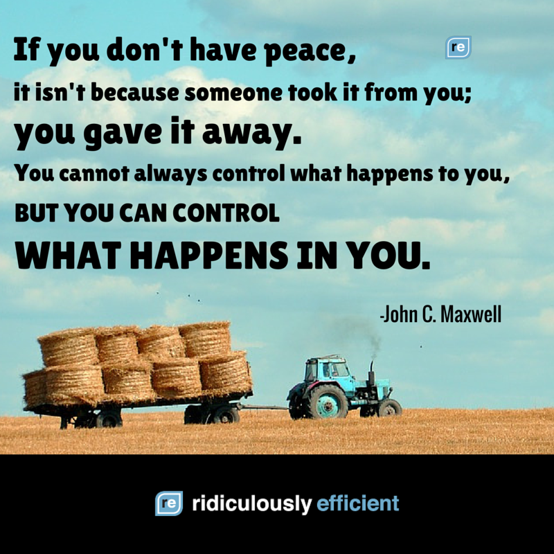 You can't control everything, but you have complete control over one thing. https://t.co/WujTYLAD20