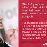The government has been defeated as @ScotParl voted for the SNP to take responsibility for planned cuts to local #NHS services. https://t.co/bi8o4bkvh4