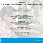 Conoce las sucursales de pago con las que contamos en diferentes puntos de las ciudad #SAPAC #Cuernavaca https://t.co/IAkihrIIRI