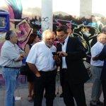 Vecinos del #BotellódromoGr celebran hoy su cierre. @LuisSalvador @molivaresh los acompañan y apoyan como el 1er dia https://t.co/xIMmMQPCvz