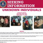 NEW: FBI identifies men who took suitcase which contained unexploded 27th St. bomb in NYC; men arent in U.S., law enforcement official says https://t.co/Z3Yr6Yh6WK