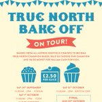 Be your own Mary Berry this Saturday for the #truenorthbakeoff and rate cakes whilst raising money for @HallamCash4Kids #shoutaboutsheff https://t.co/Zx7YvFNkBs