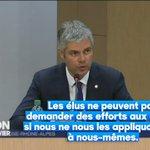 Camille a suivi Laurent Wauquiez, très attaché à lexemplarité. Enfin ça, cest lui qui le dit. #Quotidien https://t.co/pEtSccEw7i