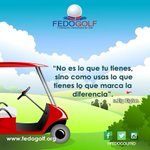 Usa  bien  lo  que  tienes.  #fedogolfRd  #golf  #putter  #hoyo  #swing  #fairway  #RD  #green  #usa  #bien https://t.co/vbNw65aEe9