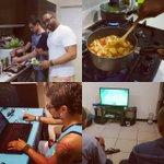 Granmah na cozinha e playstation antes do jam session.  #wegot2move https://t.co/rlLTxItYcT