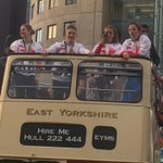 We have a bus full of Olympians! Proud to be helping welcome home Yorkshires Team GB heroes at the parade in Leeds. https://t.co/CCvgqsOk82