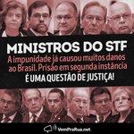 Analisando a parcialidade do nosso STF acabar com as prisões em 2ª instância é acabar com a justiça no Brasil!! #2aInstanciaCadeia https://t.co/GtyR2OIVDA
