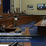 House @GOPoversight @OversightDems hearing on Voting Machine #cybersecurity – LIVE on C-SPAN3 https://t.co/9BOof2ElVh https://t.co/0UCtmjnFlY