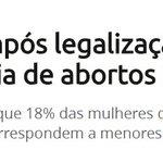 """""""MAS É QUE EU NÃO QUERO QUE ABORTOS ACONTEÇAM"""". Então apoie a legalização! https://t.co/owEGUjzZEd"""