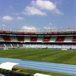 Nuestro estadio listo para la Sudamericana @JuniorClubSA - @mwfc_oficial 5:15pm https://t.co/FCtqSeRXPL
