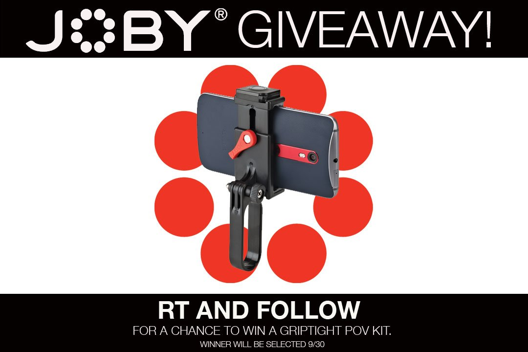 It's #WinWednesday! RT and Follow for a chance to win the new GripTight POV Kit! https://t.co/5AxlA6WNfl #giveaway https://t.co/nJG9fVpr3V