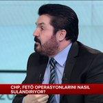 """""""CHP, FETÖ operasyonlarını nasıl sulandırıyor?"""" Şimdi @SavciSayan yanıtlıyor... @soztemasitv https://t.co/c36bQ66299 https://t.co/3BeAHJNEJk"""