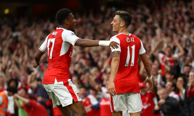 Image result for Alex Iwobi is a mixture of Jay-Jay Okocha and Edgar Davids – Mesut Ozil