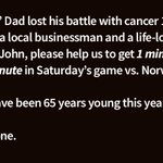Wolves friends please RT this for me and help us spread the word, would mean the world to Johns family. #wolves #wwfc @OfficialWolves https://t.co/Lh2MBxTt4A