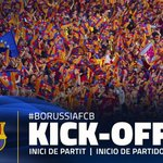 📍 ¡Comienza el partido en el Borussia Park! 🔵🔴 Força Barça!! 👏👏 #BorussiaFCB #FCBlive #UCL https://t.co/WZAkXavIg0