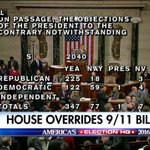 Breaking News: The House has enough votes to override Obamas veto of 9/11 bill. This is the 1st successful veto override of his presidency. https://t.co/WexHfk24AL